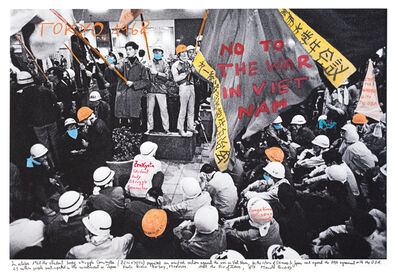 Marcelo Brodsky, 'From the series 1968: The fire of Ideas, Tokyo, 1968', 2014-2019