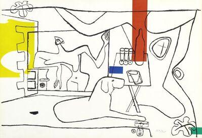 Le Corbusier, 'Trois verres d'apéritif', 1960