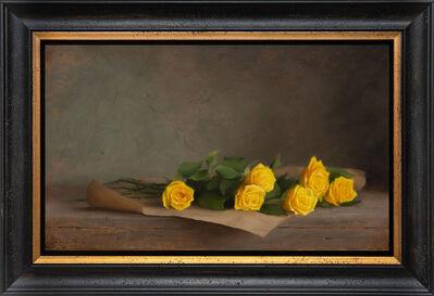 Dana Zaltzman, 'Yellow Roses', 2020