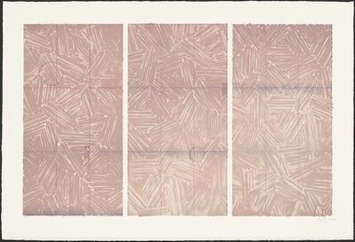 Jasper Johns, 'Usuyuki', 1979