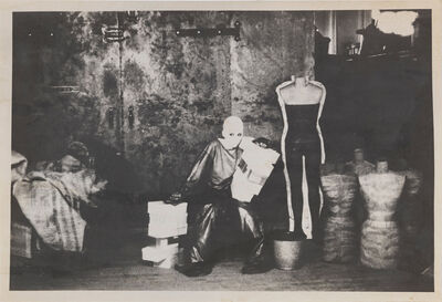 Deborah Turbeville, 'Dummy Factory, New York', 1974