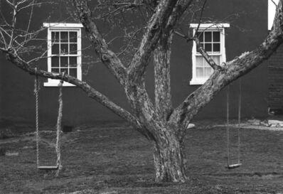 George Tice, 'Tree, Swings and Windows, Lancaster, Pennsylvania', 1966