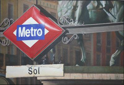Carlos Marijuan, 'Metro Sol ', 2013