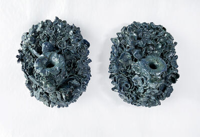 Anthony Sonnenberg, 'Pair of Wall Vases (Deep Water Horizon)', 2021