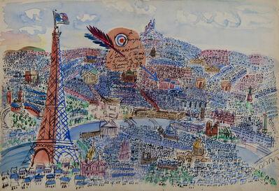 Raoul Dufy, 'Paris, Livre d'or de Marianne', 1927