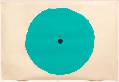 Donald Sultan, 'Aqua Trumpet, March 1', 2011