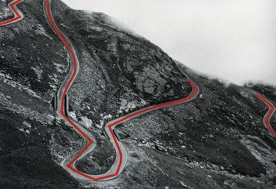 Olaf Unverzart, 'The Line, Passo del Nivolet', 2013
