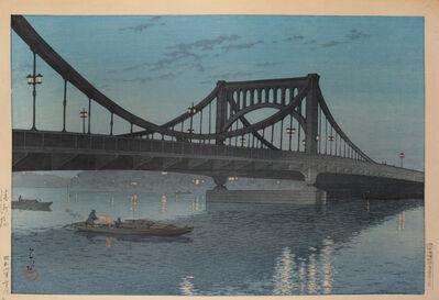 Kawase Hasui, 'Kiyosu Bridge', 1931