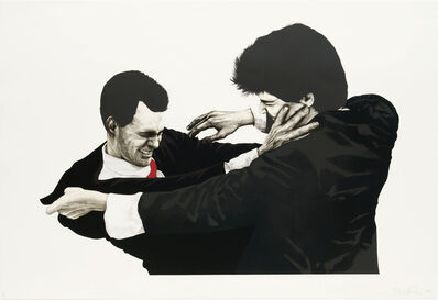 Robert Longo, 'Frank and Glenn', 1991