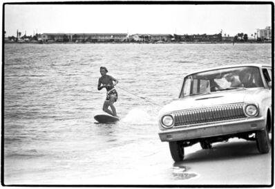Al Satterwhite, 'surfing Florida style', 1969