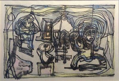 Jan Schoonhoven, 'De familie', 1951