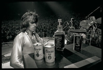 Ethan Russell, 'Keith Richards with Jack and Coors, 1972', 1972