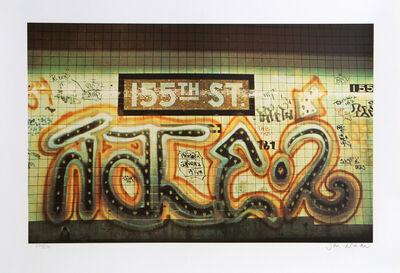 Jon Naar, '155th Street from the Faith of Graffiti portfolio', 1974