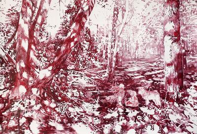 Malgosia Jankowska, 'Waldlichtung (Wood Glade)', 2017