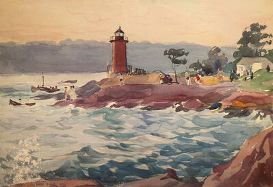 Waldo Park Midgley, 'Mountauk Point', 1922-1942