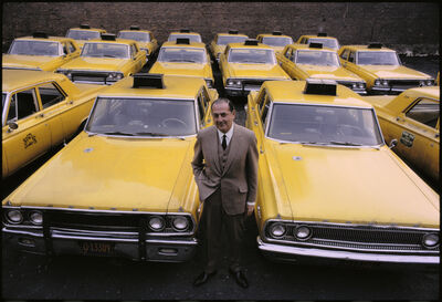 Hervé GLOAGUEN, 'Robert SCULL, NY 1966', 1966