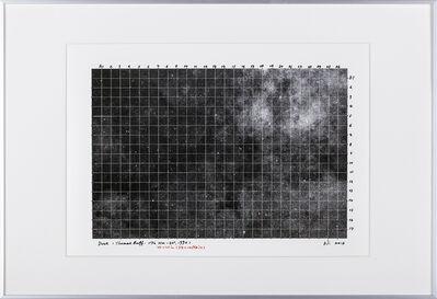 Ni Youyu 倪有鱼, 'Dust  Sketch (Thomas Ruff:18h 42m-75°)', 2015