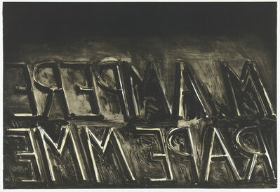 Bruce Nauman, 'M. Ampere', 1973