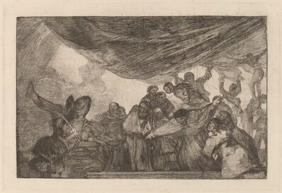Francisco de Goya, 'Disparate claro (Clear Folly)', in or after 1816