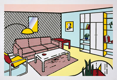 Roy Lichtenstein, 'Modern Room', 1991
