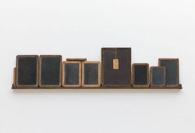 Vija Celmins, 'Blackboard Tableau #1', 2007-10