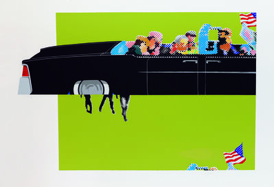 Gerald Laing, 'Lincoln Convertible'