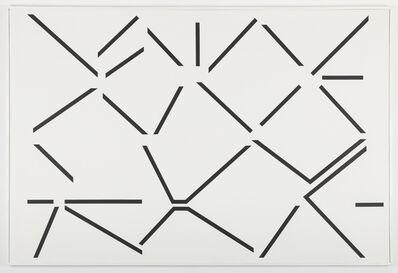 Geneviève Claisse, 'Condensation critique du vide n°3', 1988