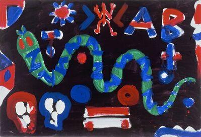 A.R. Penck, 'Schlange in der Nacht (Snake in the Night)', 1991