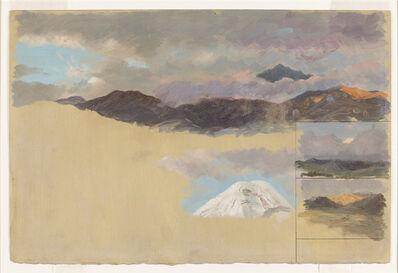 Frederic Edwin Church, 'Studies of Mount Chimborazo, Ecuador', 1857