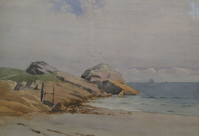 Marshall Jones, 'Sailboats off the Coast', 19th Century