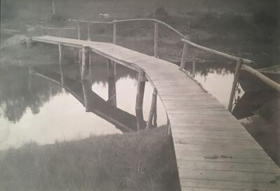 Margaret Watkins, 'Untitled (Wooden Bridge)', 1915