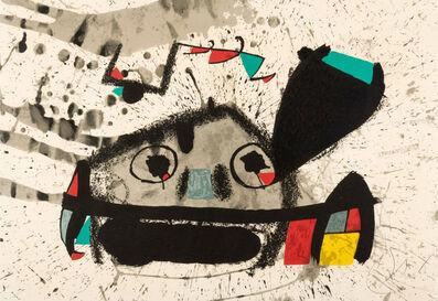 Joan Miró, 'Barcelona II, Un cami compartit', 1975