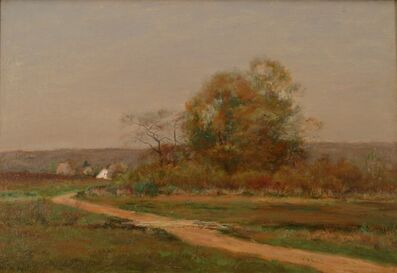 Frederick Kost, 'The Road to the Beach, Southfield, Staten Island', 1890