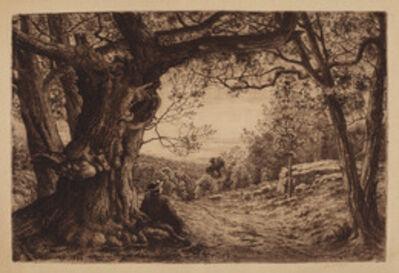 Henry Farrer, 'On The Hillside', 1880