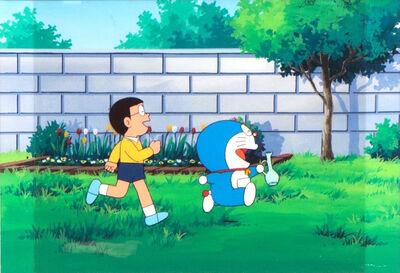 Doraemon Series by SHIN-EI Animation, 'Doraemon Anime Production Cel 哆啦A夢 ドラえもん ', 1990-2000