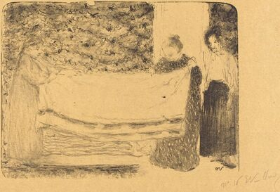 Édouard Vuillard, 'Folding the Linen (Le pliage du linge)', 1893