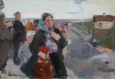 Boris Mikhaylovich Lavrenko, 'Beginning of the War', 1959