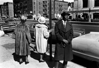 Dawoud Bey, 'A Man and Two Women after a Church Service, 1976', 1976