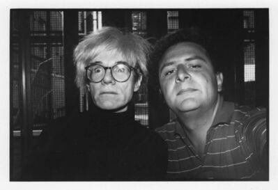 Jean Pigozzi, 'Andy Warhol and ME', 1986