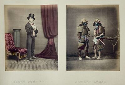 Felice Beato, 'Album of mounted albumen prints of Japan and China'