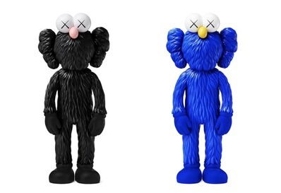 KAWS, 'BFF Black & Blue', 2017