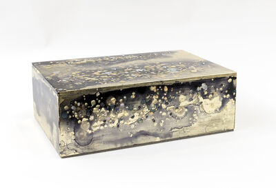 Nancy Lorenz, 'Untitled Pale Gold and Mother of Pearl Box', 2016