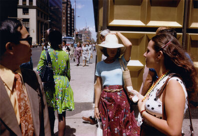 Joel Meyerowitz, 'Gold Corner, New York ', 1974