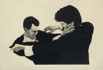 Robert Longo, 'Frank & Glenn from Men in the Cities', 1991