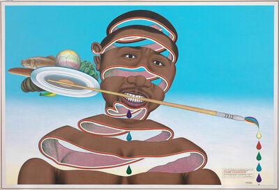 Chéri Samba, 'J'aime la couleur', 2010