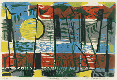 Werner Drewes, 'Two prints.'