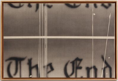 Ed Ruscha, 'The End', 1993