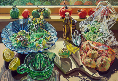 Janet Fish, 'Salad Fixings', 1983