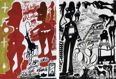 Carlo Zinelli, 'untitled', 1968