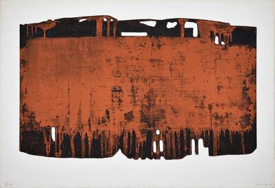Pierre Soulages, 'Eau-forte n°XXV', 1974